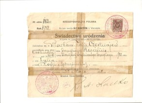 Object 2 B ID card Warsaw