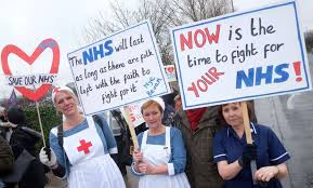 nhs protest 2